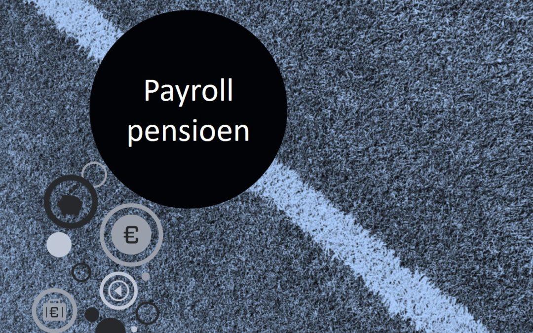 Een adequaat payroll pensioen