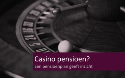 Casino pensioen?